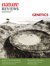 Nature Reviews Genetics October 2009